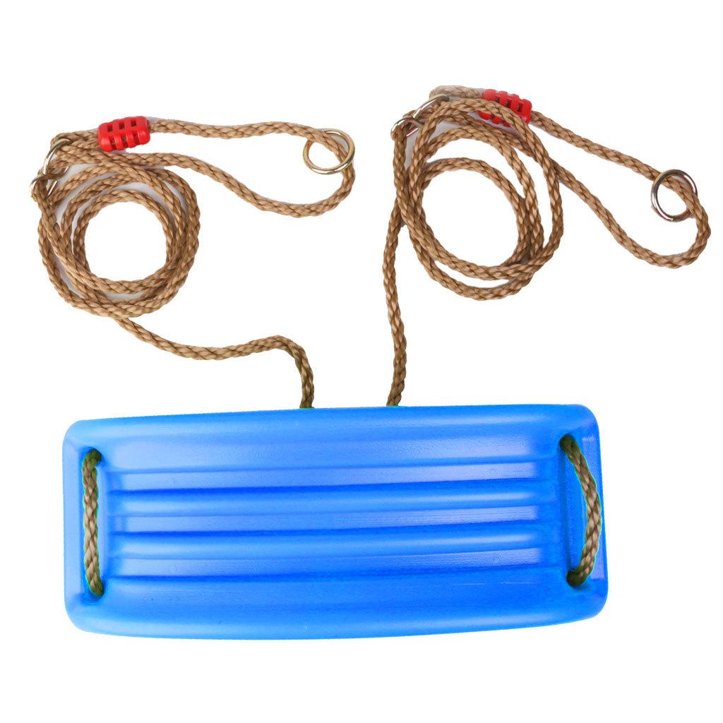Garden-Swing-Set-Seat-Rope-Hanging-Strap-Connector-Metal-Chain-Kid-Adult-Outdoor miniatuur 4