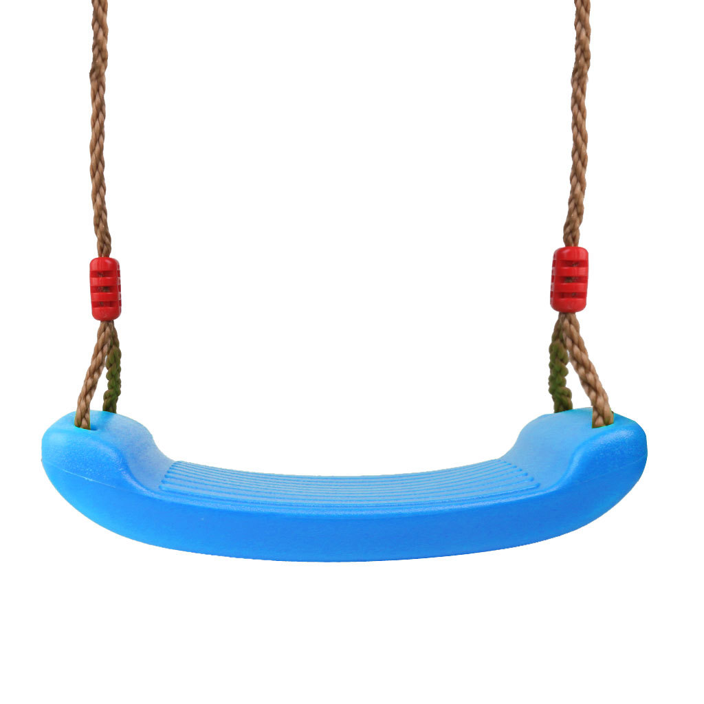 Garden-Swing-Set-Seat-Rope-Strap-Connector-Chain-Kid-Adult-Outdoor-Fun-Play-Game miniatuur 3