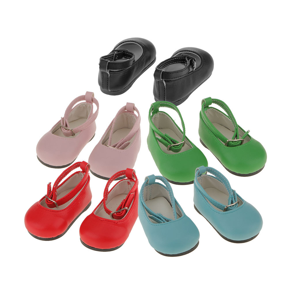 New-Cute-Pair-of-Doll-Shoes-for-18-039-039-American-doll-AG-Dolls-Clothes-Accessories thumbnail 48