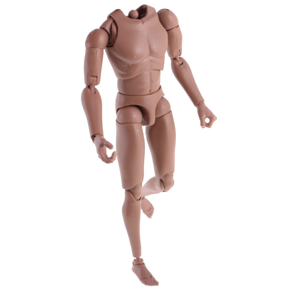 1-6th-Action-Figure-Muscular-Muscle-Male-Nude-Body-for-Hot-Toys-TTM18-TTM19-Head thumbnail 28
