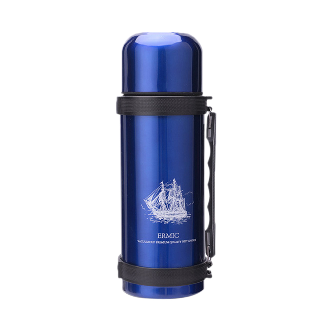 Sport-Bottle-Water-Flask-Stainless-Steel-Double-Wall-Vacuum-Insulated-Cup thumbnail 3