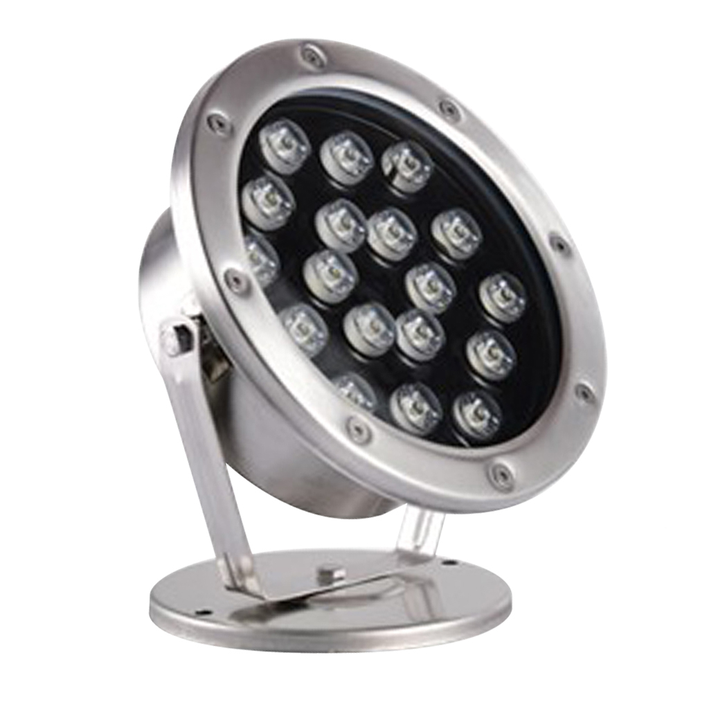 miniatura 4 - Lampada Illuminazione Subacquea LED Luce Fontane Stagni Lega Alluminio 18W