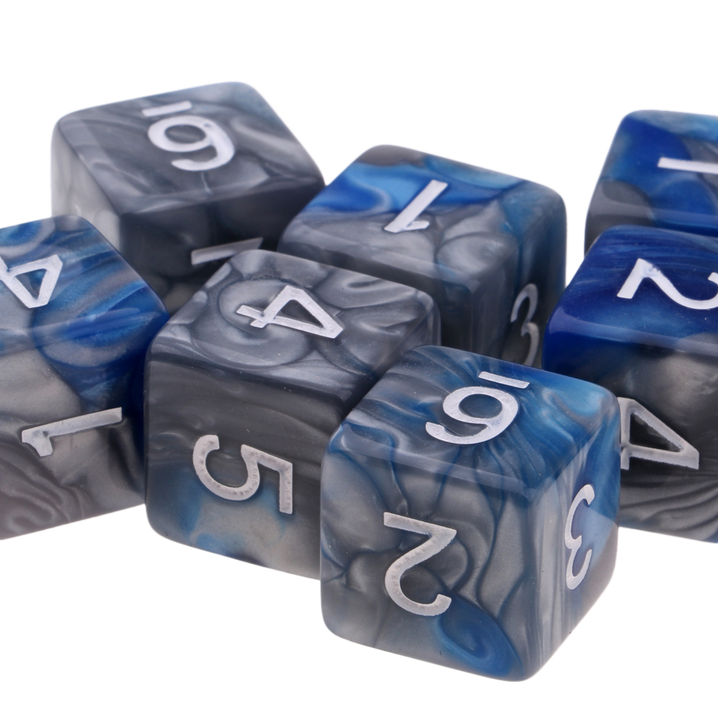 10pcs-D6-16mm-Dice-for-Friends-Family-Travel-Board-Games-Gifts thumbnail 20
