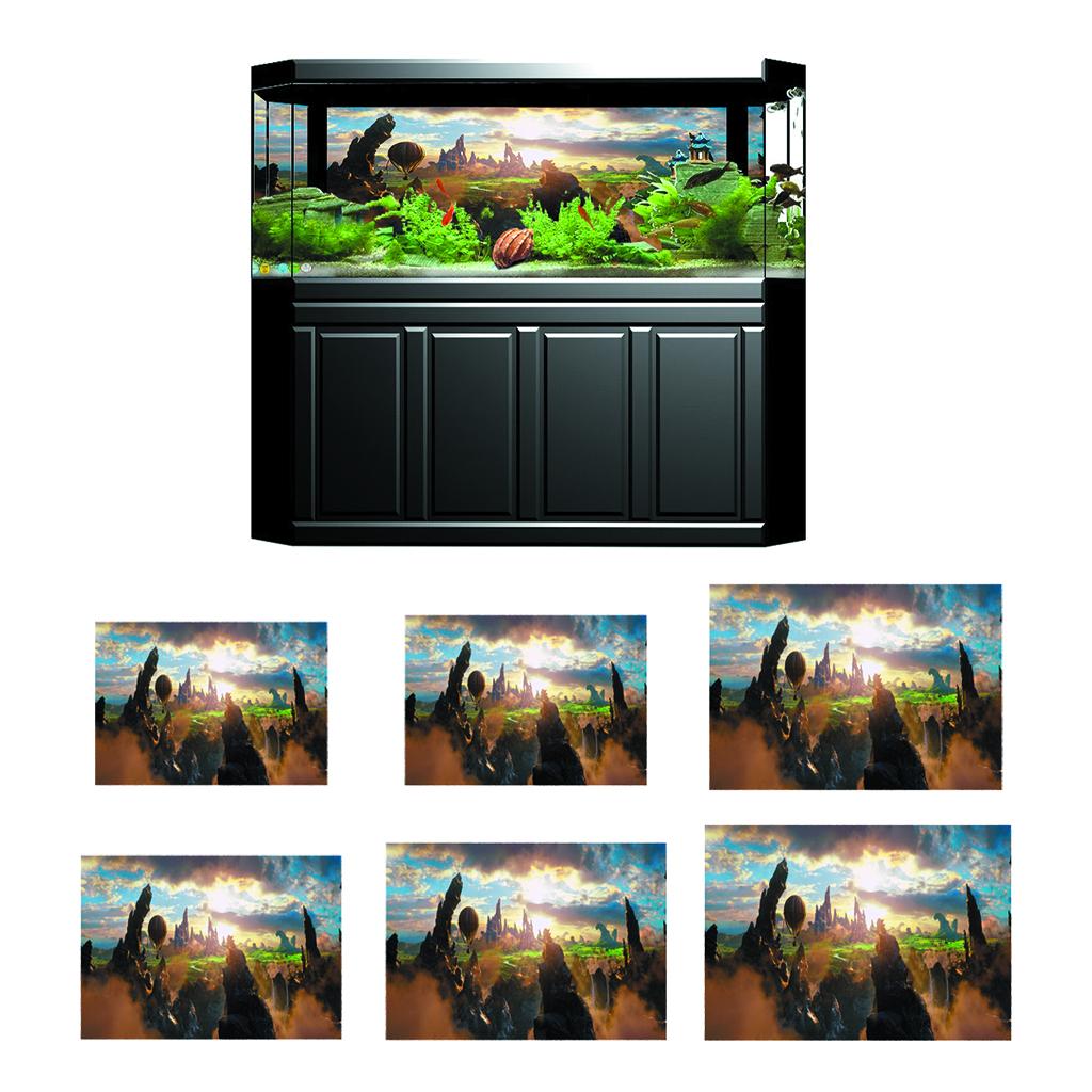 3D-High-Definition-Background-Paper-Wallpaper-Decor-for-Aquarium-Fish-Tank thumbnail 70