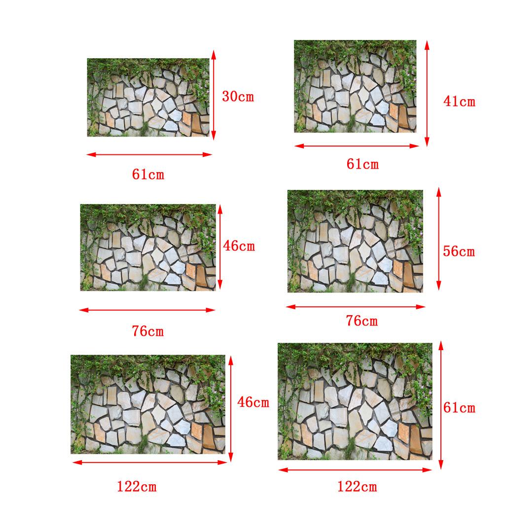 Adesivo-di-pesce-acquario-Poster-di-sfondo-per-serbatoio-Decorazione miniatura 5