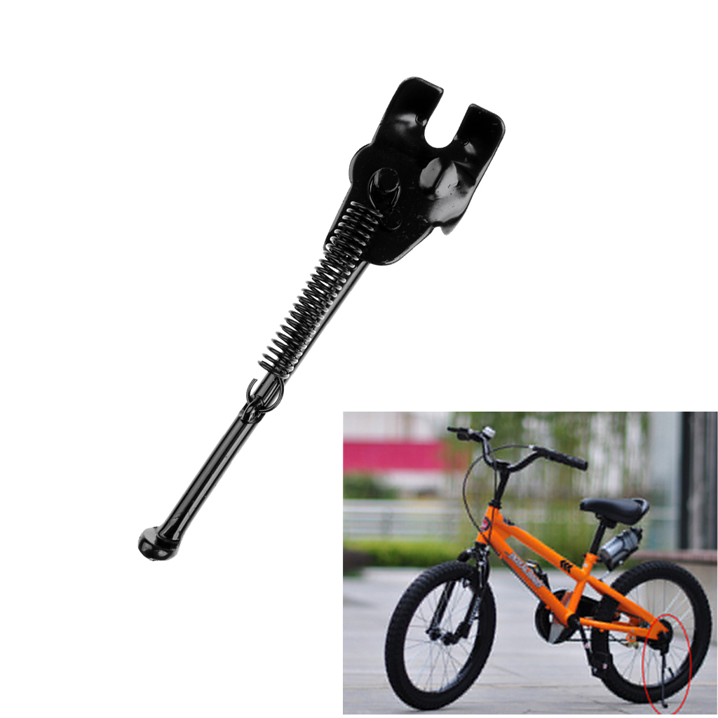 """CHILDS CYCLE STAND PROPSTAND 4 BIKES WITH 18/""""/&20/"""" WHEELS LIGHT//STRONG KICKSTAND"""