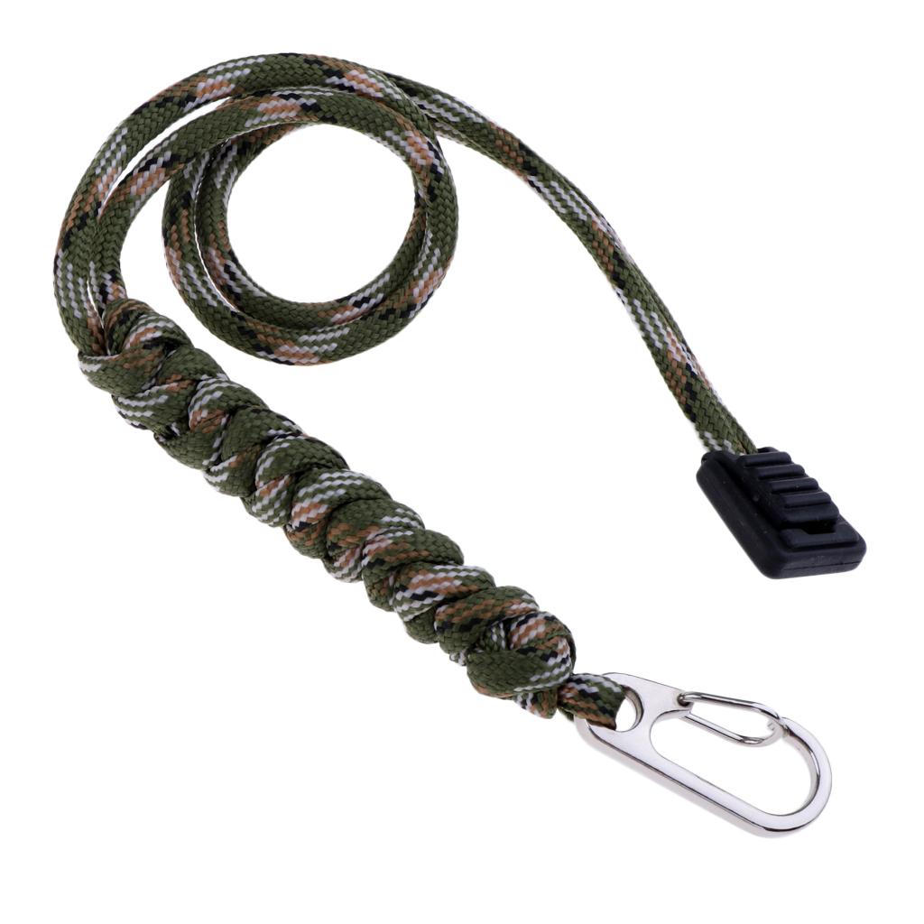 Porte-cle-Paracorde-avec-Mousqueton-Crochet-Couteau-de-Poche-Tactique miniature 18