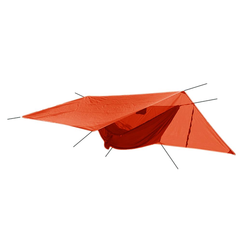 Waterproof Sunscreen Canopy Mosquito Net Hammock Set