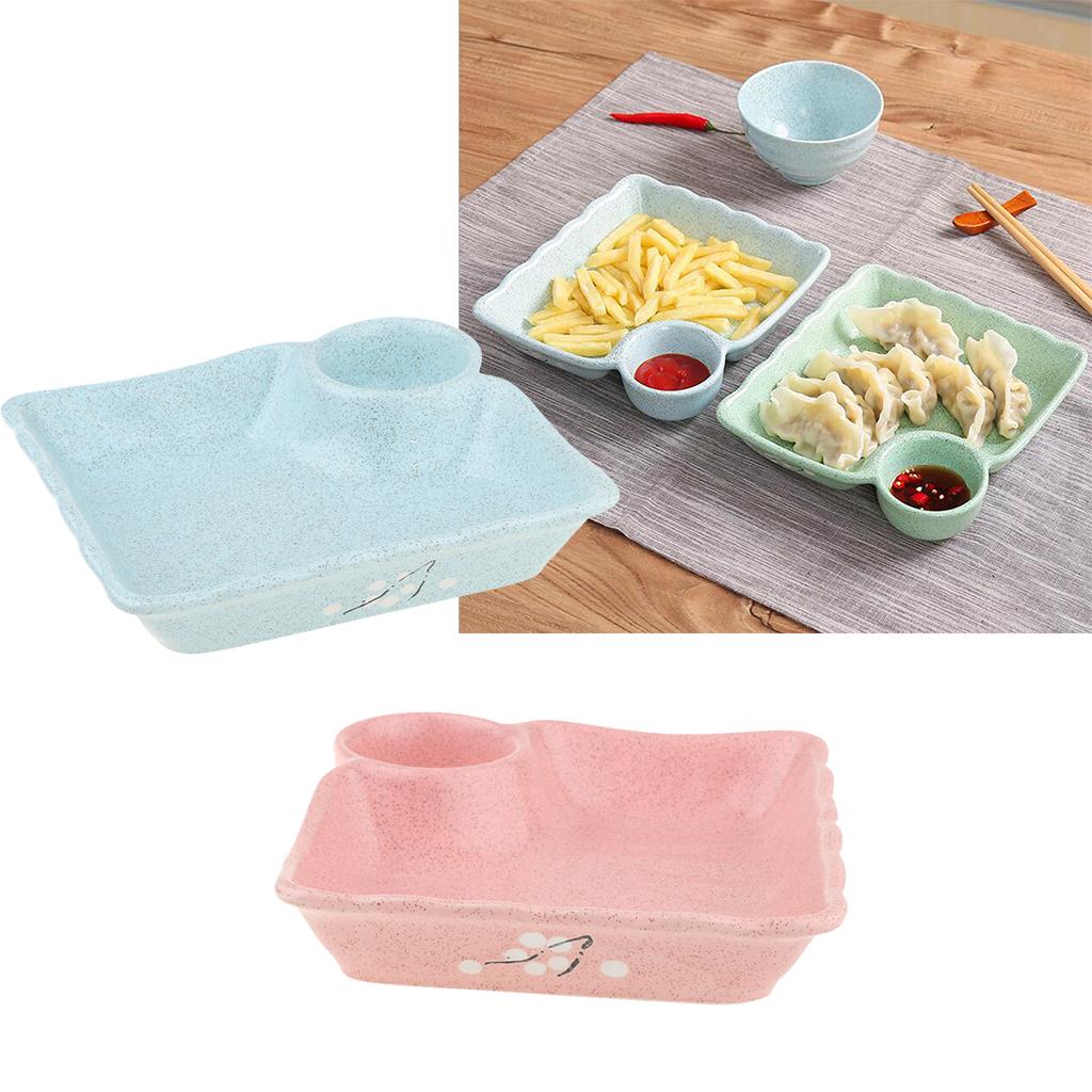 Piatto-per-Gnocco-Insalata-Sushi-Frutta-Piatto-di-Riso-Creativo-Piatti miniatura 4