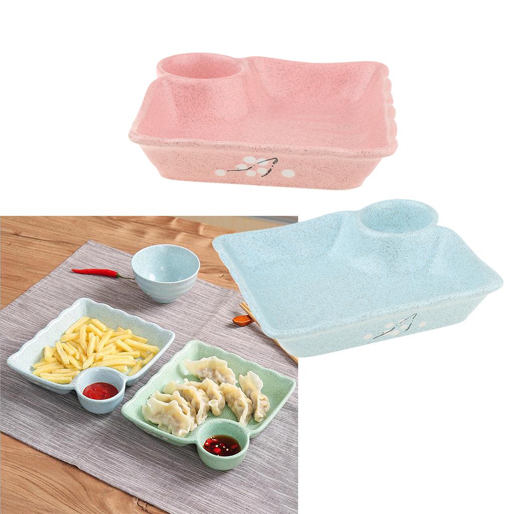 Piatto-per-Gnocco-Insalata-Sushi-Frutta-Piatto-di-Riso-Creativo-Piatti miniatura 3