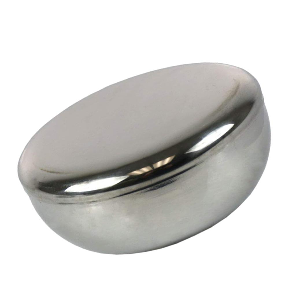 Ciotola-in-Acciaio-Inox-per-Riso-di-Miscelazione-con-Coperchi-Adatto-A miniatura 3