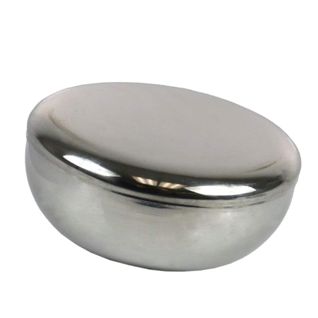 Ciotola-in-Acciaio-Inox-per-Riso-di-Miscelazione-con-Coperchi-Adatto-A miniatura 4