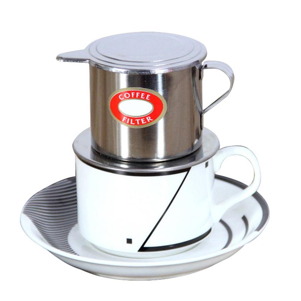50ml-100ml-Vietnamese-Infuser-Coffee-Filter-Coffee-Slow-drip-Stainless-Steel thumbnail 6