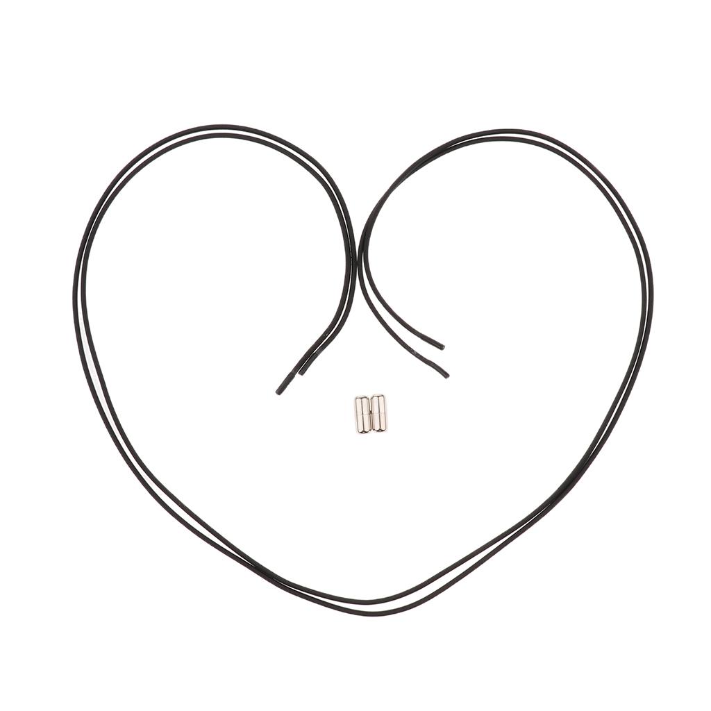 2pcs-ensemble-unisexe-aucune-cravate-lacets-elastiques-lacets-en miniature 5