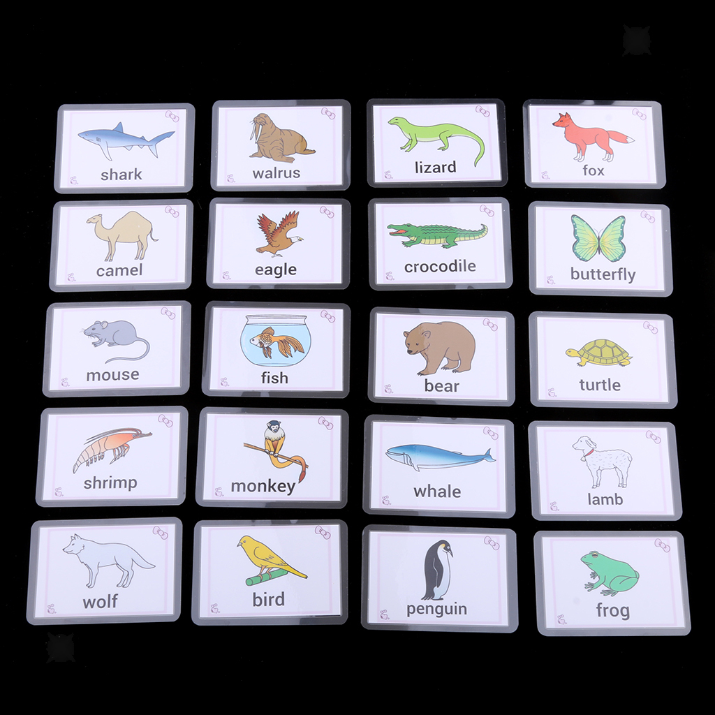 Kids-Alphabet-Activity-Playing-Flash-Cards-Educational-Learning-Pocket-Card thumbnail 3