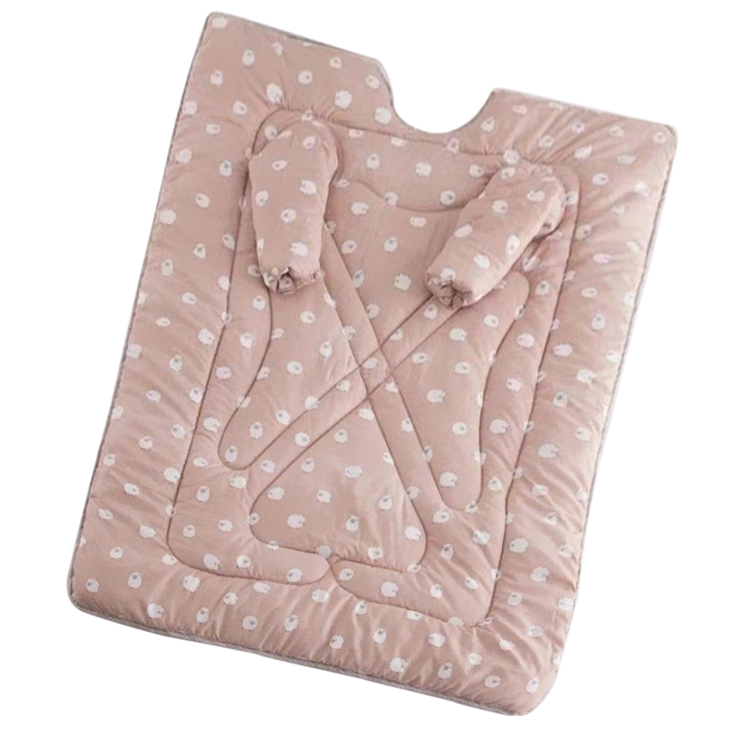Comfy Thickened Quilted Comforter Duvet Bedding Cover With