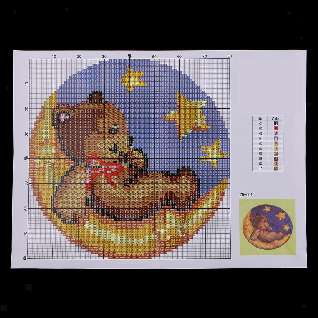 thumbnail 56 - Latch Hook Rug Making Kits for Kids/Adults Hand Embroidery Cushion Needlecrafts