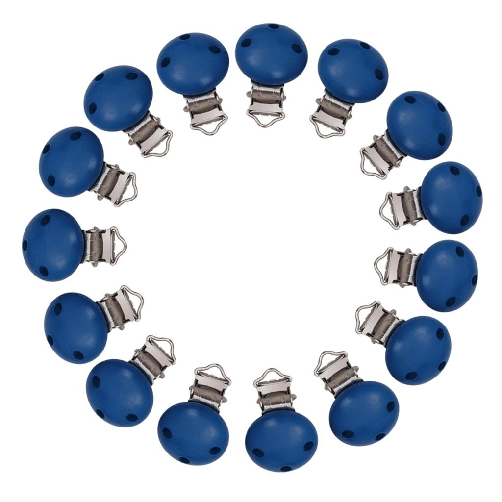 15pcs-rond-sucette-clip-perle-en-bois-bebe-dentition-accessoires-bricolage miniature 26
