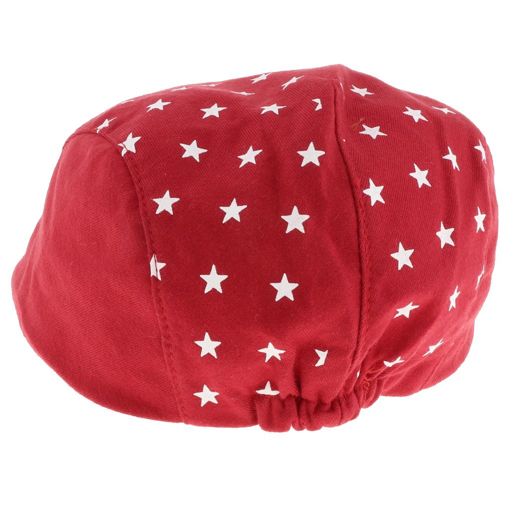 12b58c00e Details about Child Baby Kids Beret Cap Boy Girl Infant Toddler Peaked  Cabbie Flat Hat