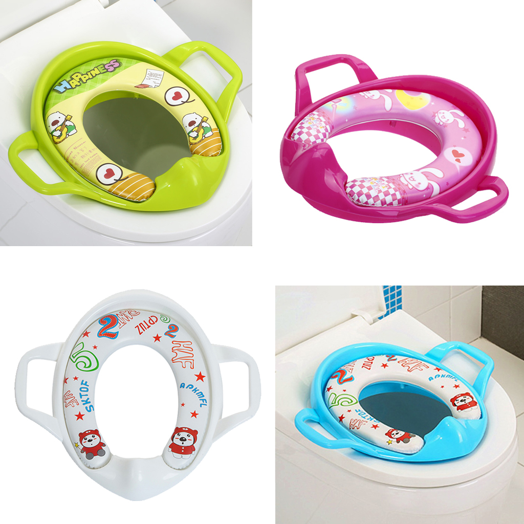 Toddler Travel Potty Seat 2 In 1 Portable Toilet Seat Kids Convenient Assistant Ebay