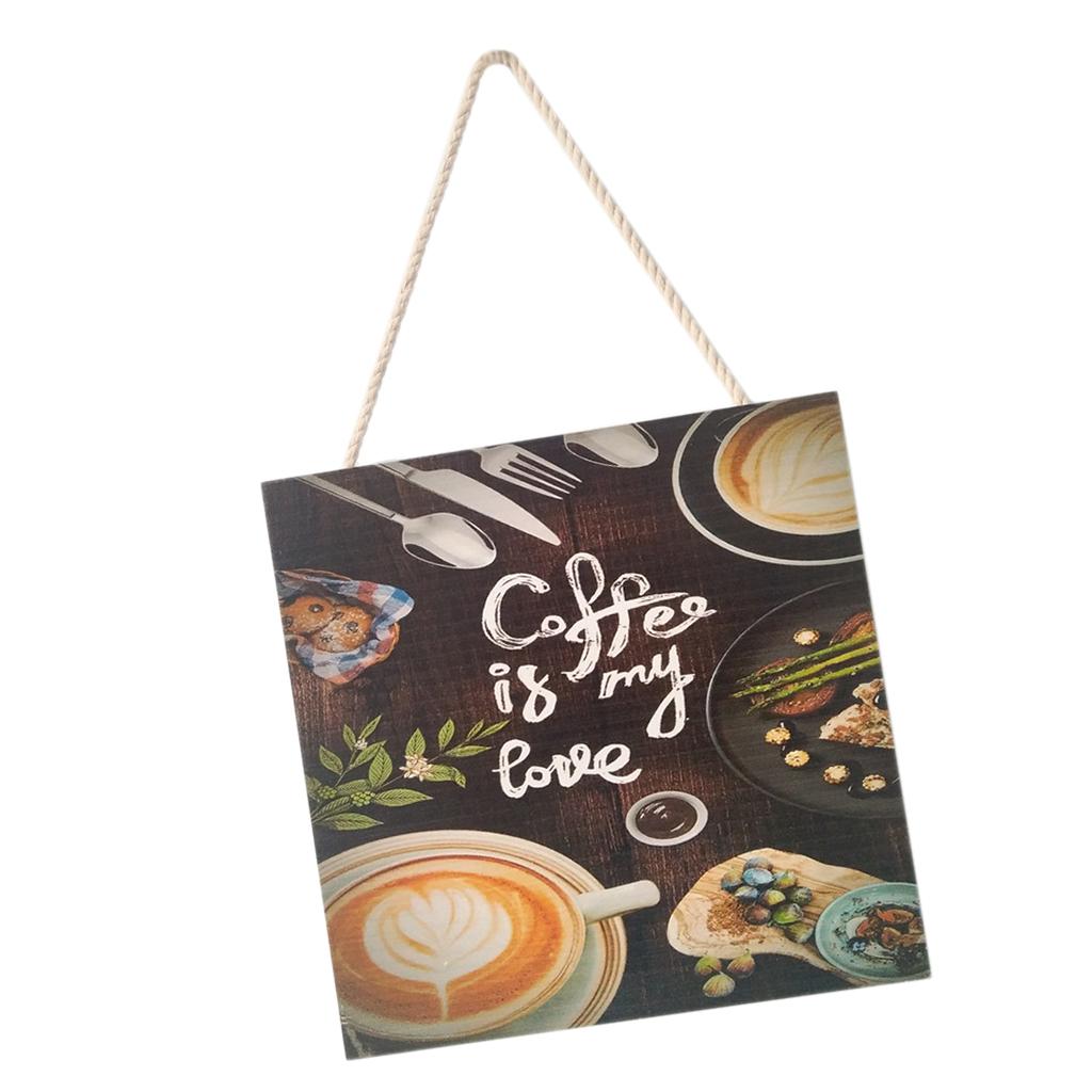 Caffe-d-039-annata-del-modello-del-segno-del-segno-di-legno-per-la-decorazione miniatura 12