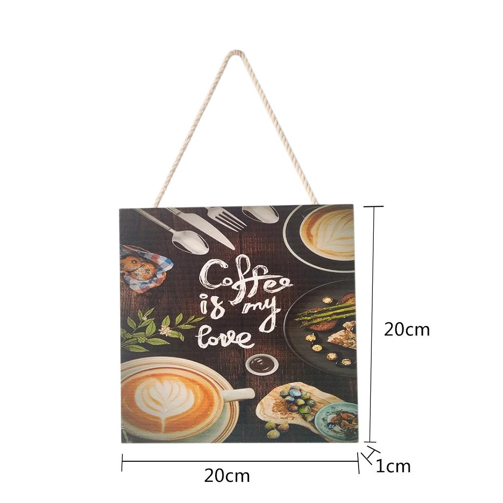 Caffe-d-039-annata-del-modello-del-segno-del-segno-di-legno-per-la-decorazione miniatura 14