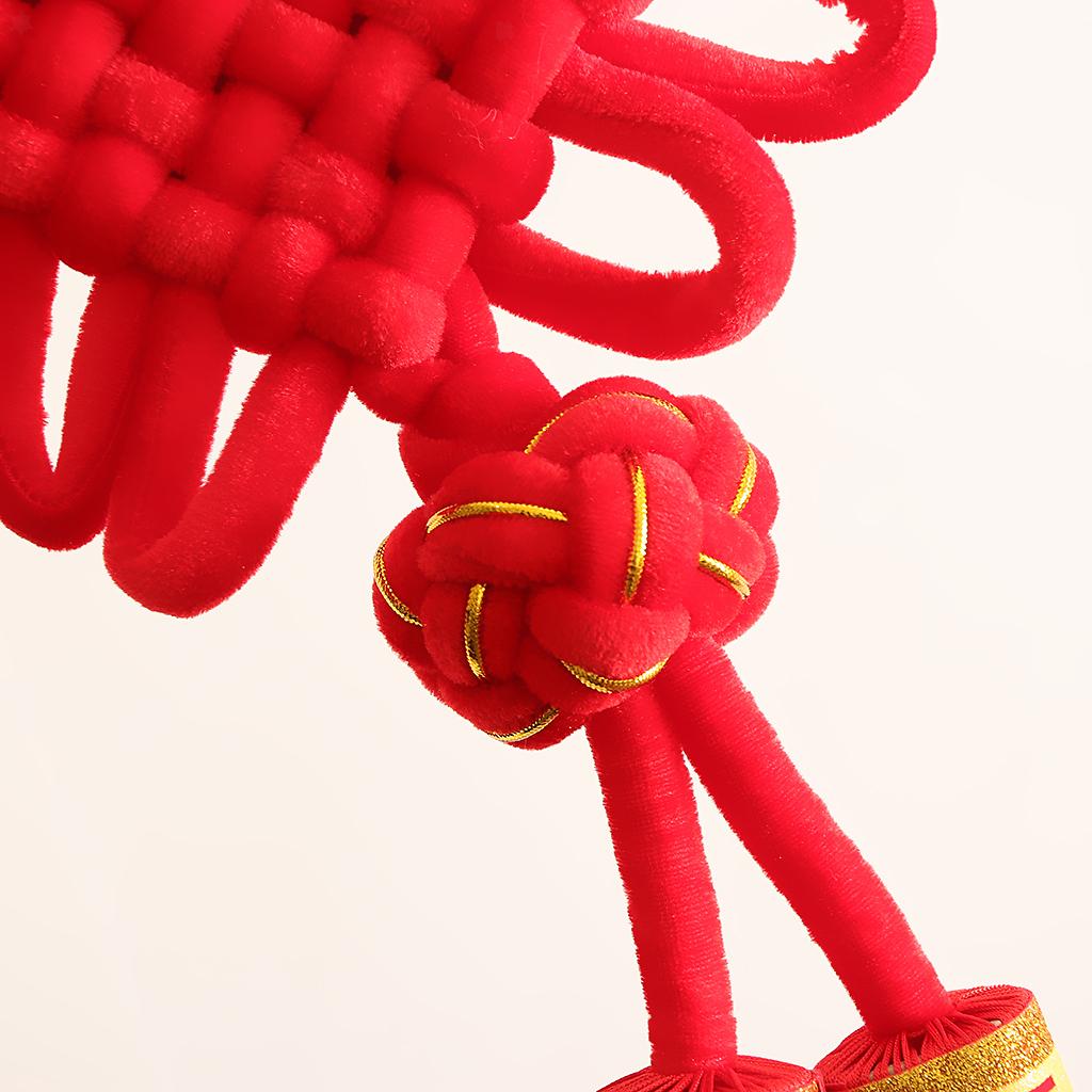 miniatura 3 - 1pcs nodo cinese Fu Hanging Festival Knot Fu Fu appeso per la casa