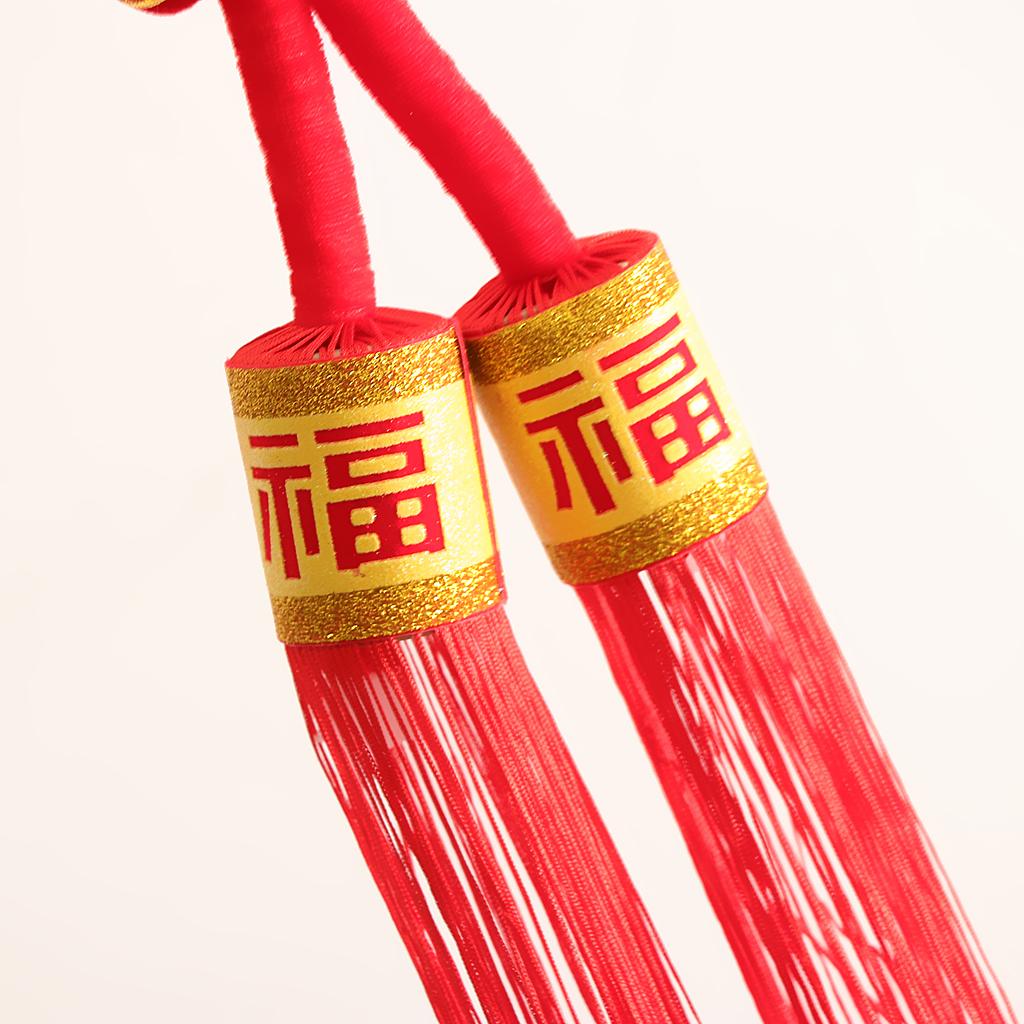 miniatura 4 - 1pcs nodo cinese Fu Hanging Festival Knot Fu Fu appeso per la casa