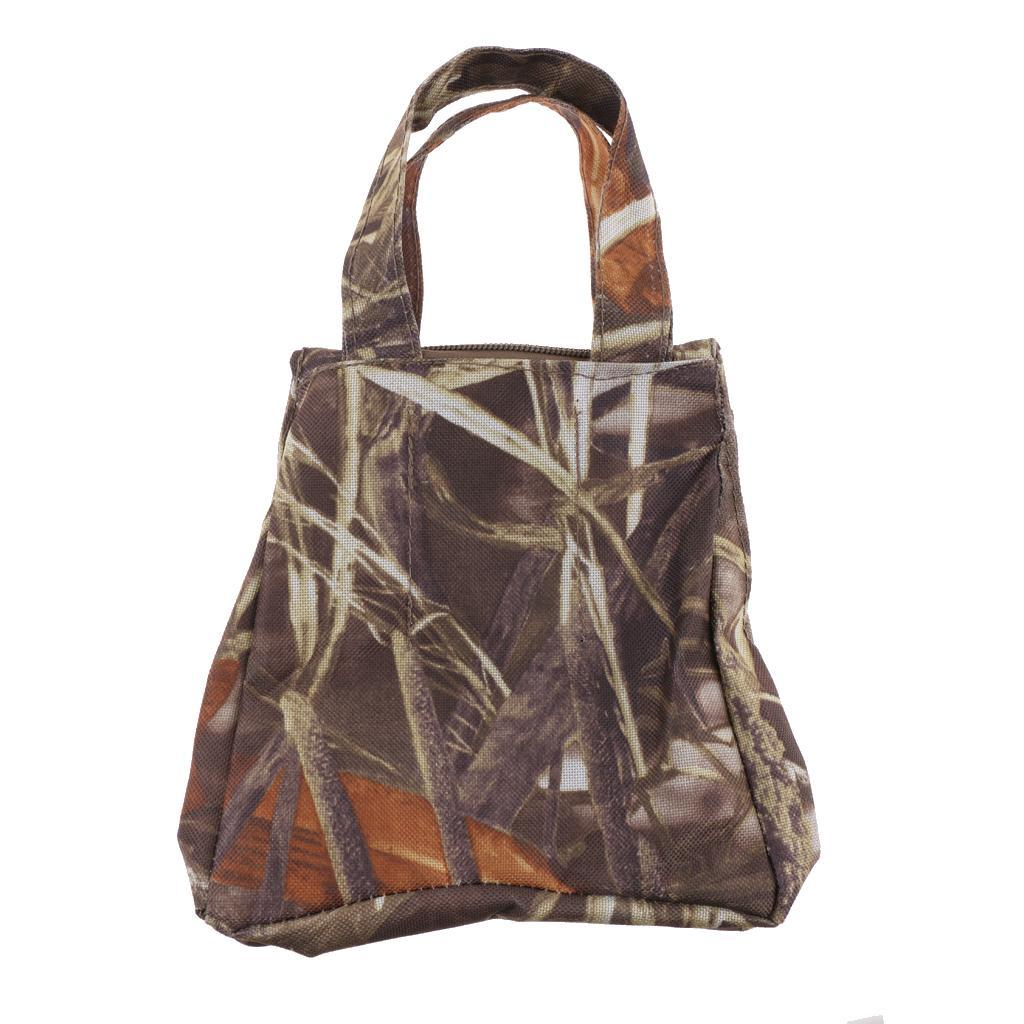 Camouflage Camera Lens Hunting Shooting Sand Bag For Car