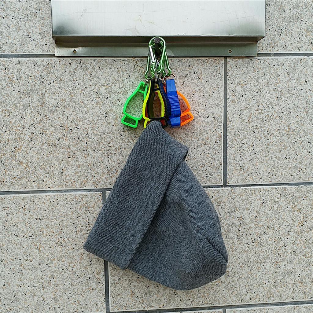 Guanti-Clip-Grabber-Porta-Gunti-Guanto-Safety-Keeper-di-Gunato-Attrezzo miniatura 4