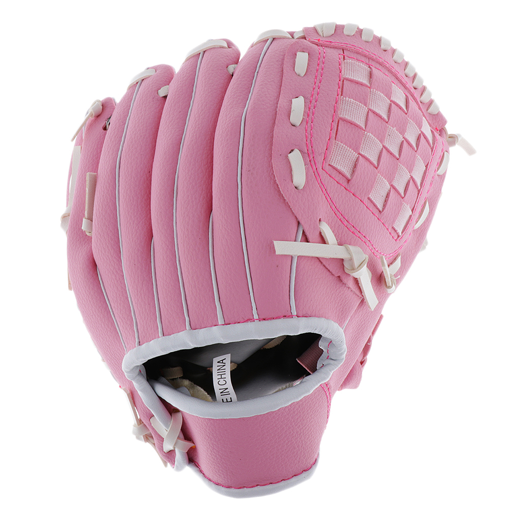 Baseball-Softball-Gloves-Wear-resistant-Mitts-Right-Hand-Thrower-Youth-Adult thumbnail 12
