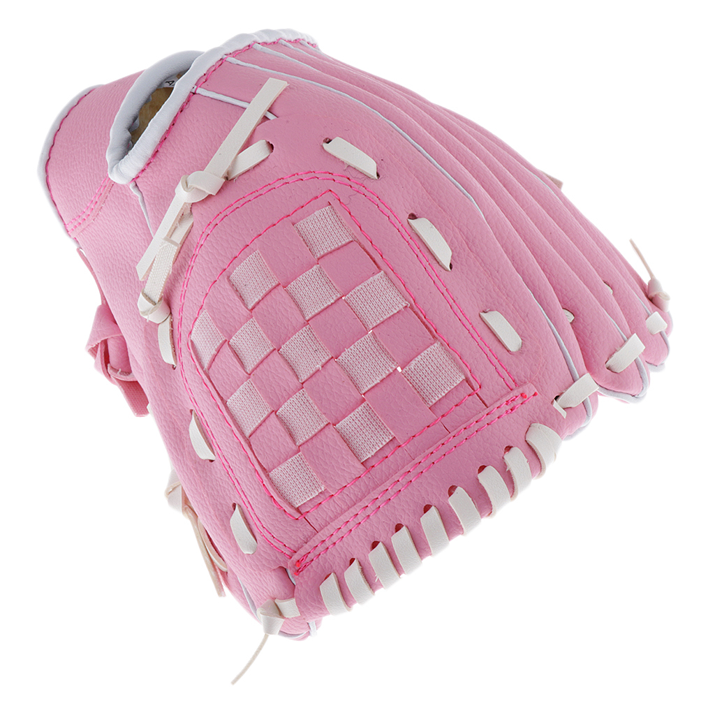 Baseball-Softball-Gloves-Wear-resistant-Mitts-Right-Hand-Thrower-Youth-Adult thumbnail 13