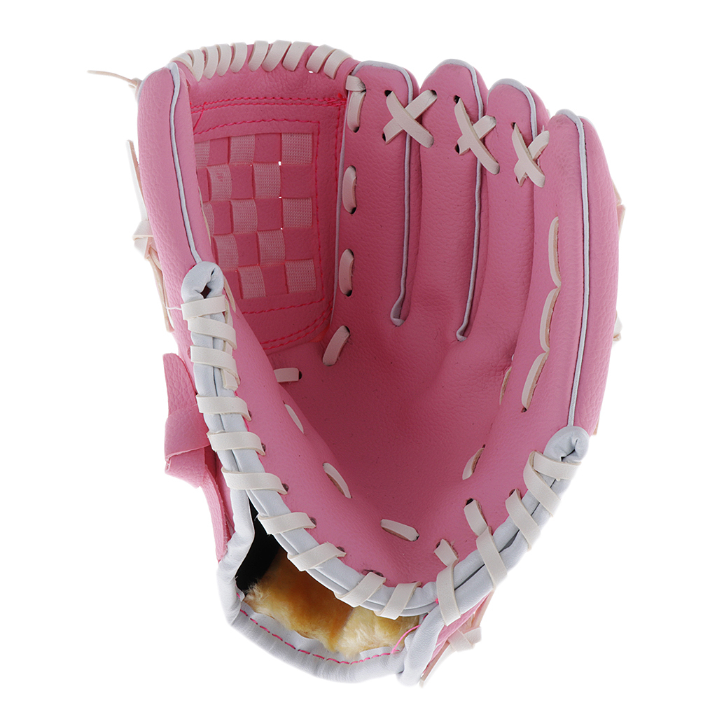 Baseball-Softball-Gloves-Wear-resistant-Mitts-Right-Hand-Thrower-Youth-Adult thumbnail 15