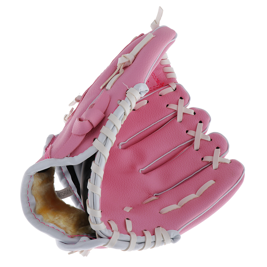 Baseball-Softball-Gloves-Wear-resistant-Mitts-Right-Hand-Thrower-Youth-Adult thumbnail 16