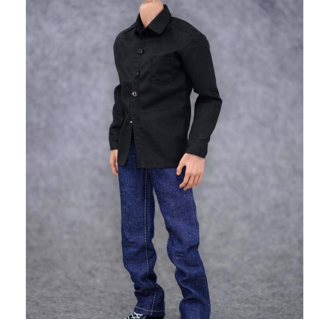 1-6-Scale-Men-039-s-Outfits-Clothes-Set-For-12-039-039-Hot-Toys-Action-Figure-Accessories miniature 13