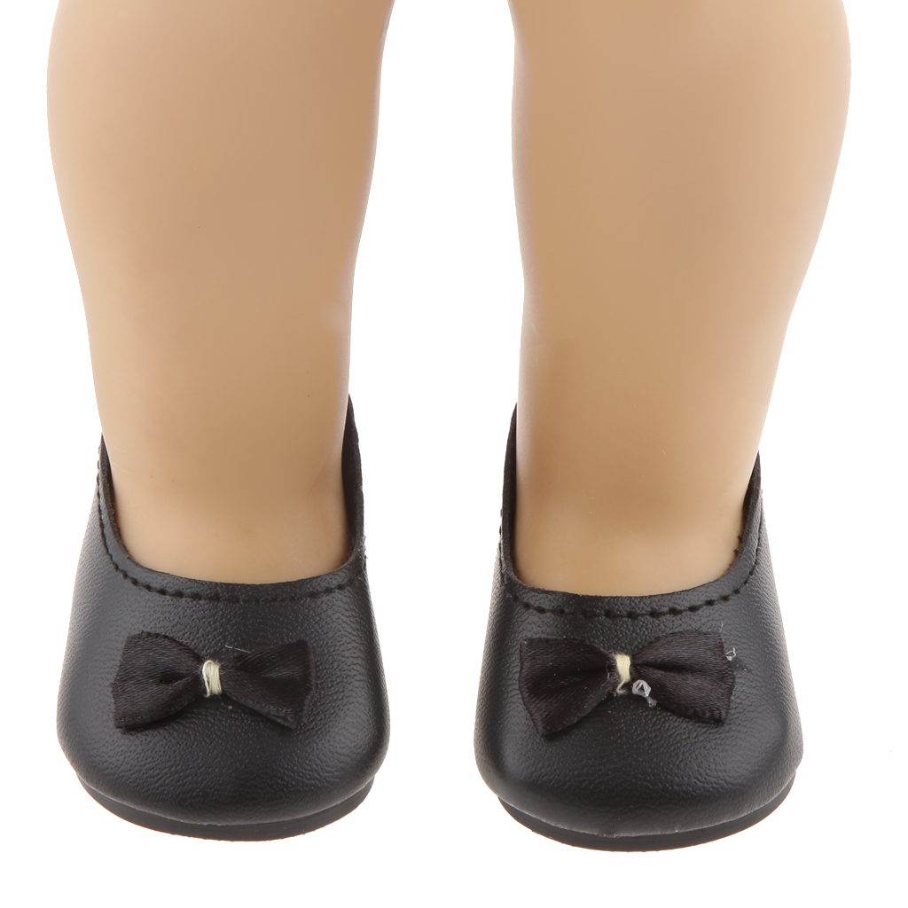New-Cute-Pair-of-Doll-Shoes-for-18-039-039-American-doll-AG-Dolls-Clothes-Accessories thumbnail 73