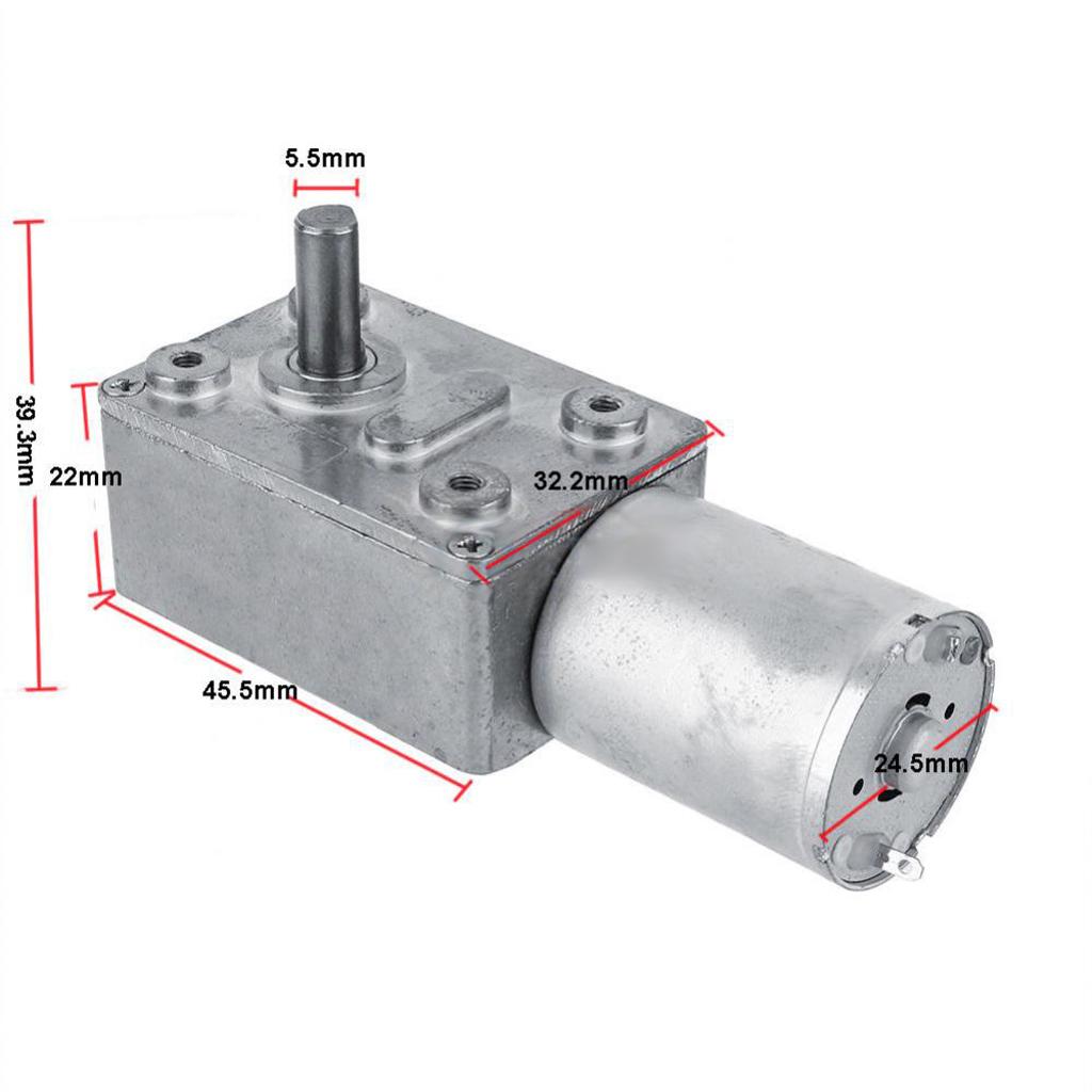 1 STÜCKE Neue DC12V High Torque  Schneckengetriebe DC Motor mit
