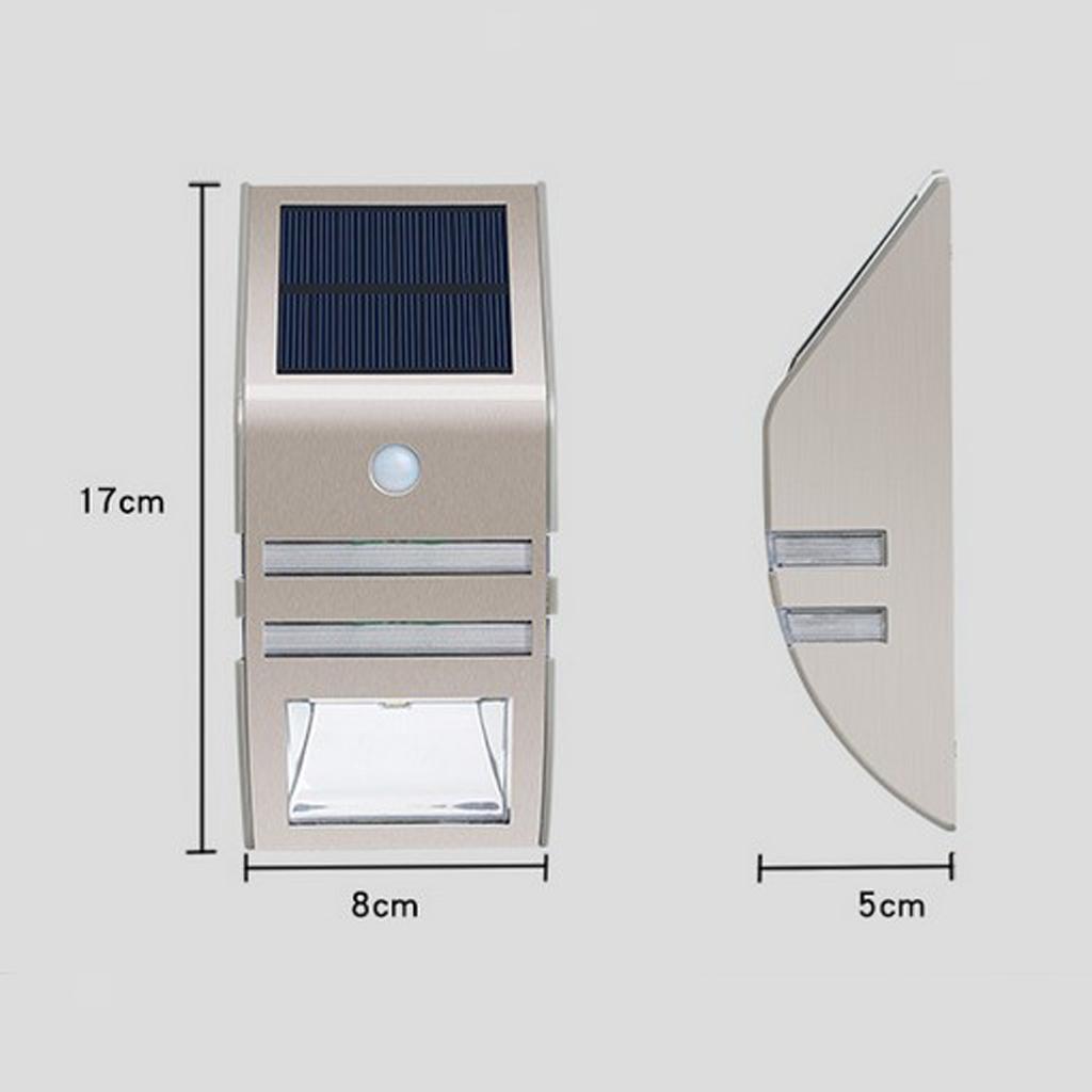 Lampe-exterieure-de-projecteur-de-mouvement-de-puissance-solaire-de-LED miniatura 6