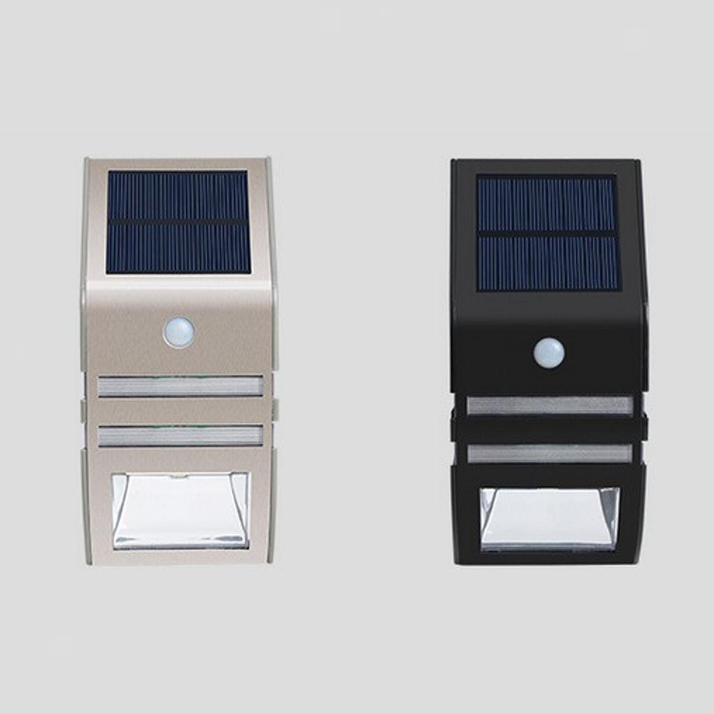 Lampe-exterieure-de-projecteur-de-mouvement-de-puissance-solaire-de-LED miniatura 5