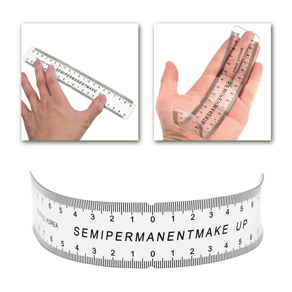 Pennarello-per-sopracciglia-Pennello-per-magia-Kit-per-pinza-righello-per miniatura 11