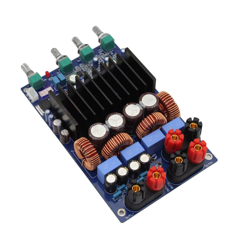 TAS5630 2.1 Channel Digital Class D Audio Amplifier Board 300W+150W+150W DC 48V