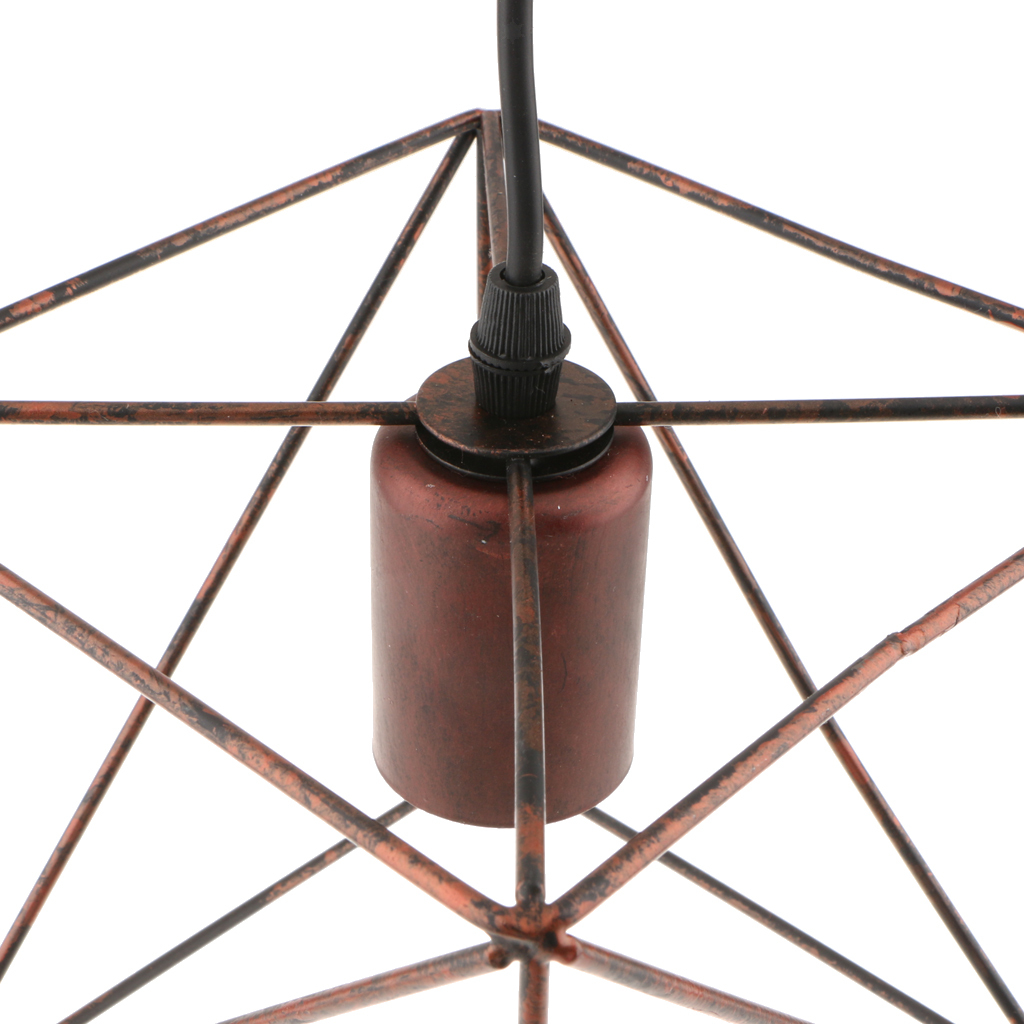 Cube-Lamp-Cage-Ceiling-Light-Shade-Lampshade-Pendant-Lights-Fixture-Home-Decor thumbnail 15