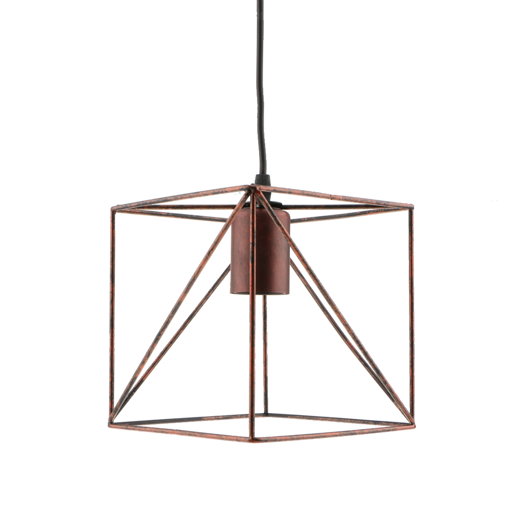 Cube-Lamp-Cage-Ceiling-Light-Shade-Lampshade-Pendant-Lights-Fixture-Home-Decor thumbnail 12