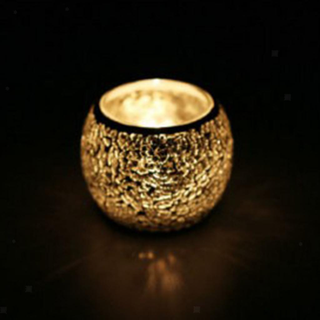 Assorted-Moroccan-Mosaic-Glass-Votive-Candle-Tea-Light-Candelabra-Candlestick thumbnail 38