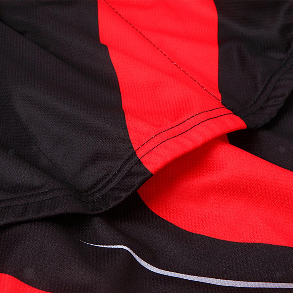 Maillot-Cyclisme-Manches-Longues-Respirant-Sechage-Rapide-Tenus-pour-Velo miniature 8