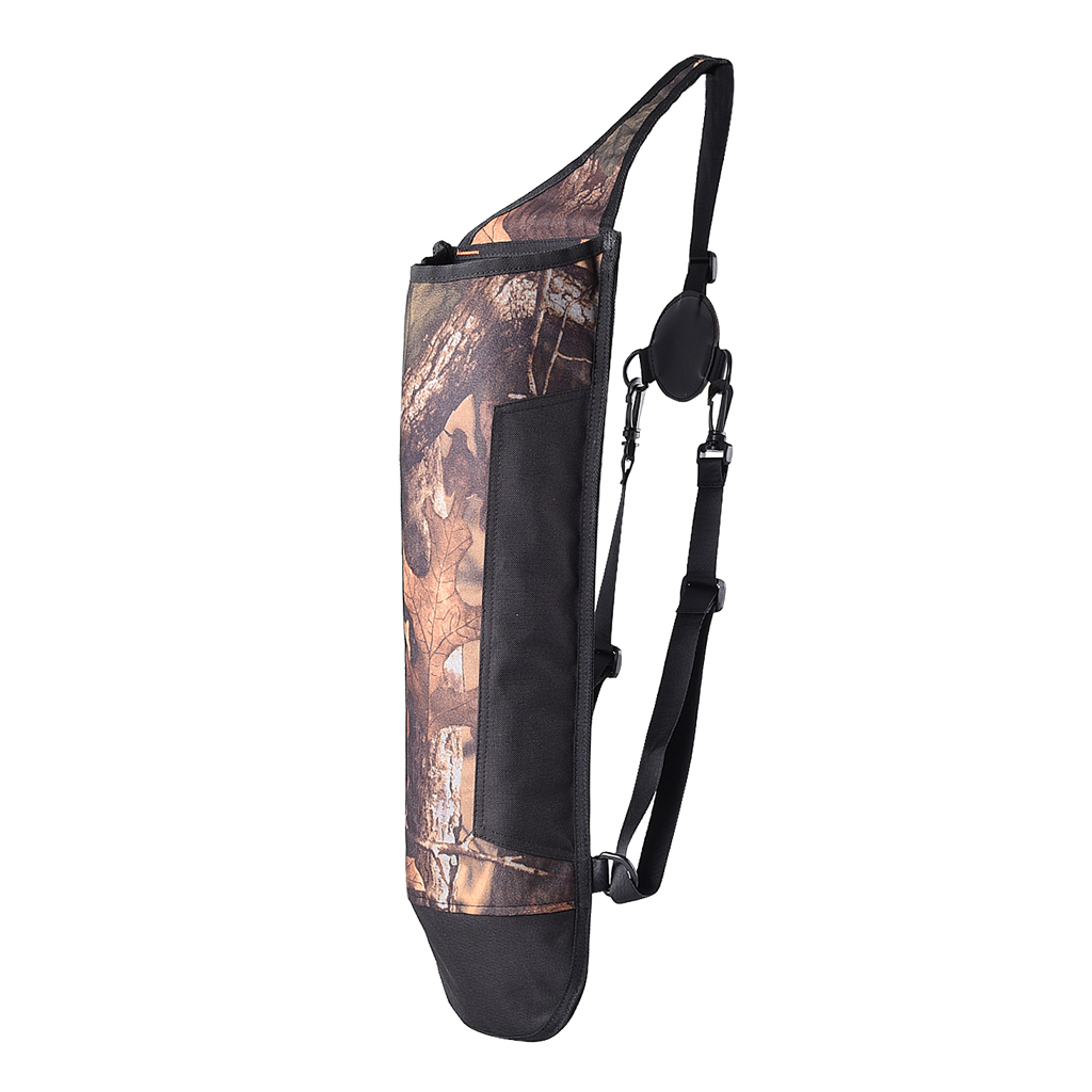 Archery Flèche Carquois 3Tube BackWaist Shoulder Strap Pouch Hunting Camo AF