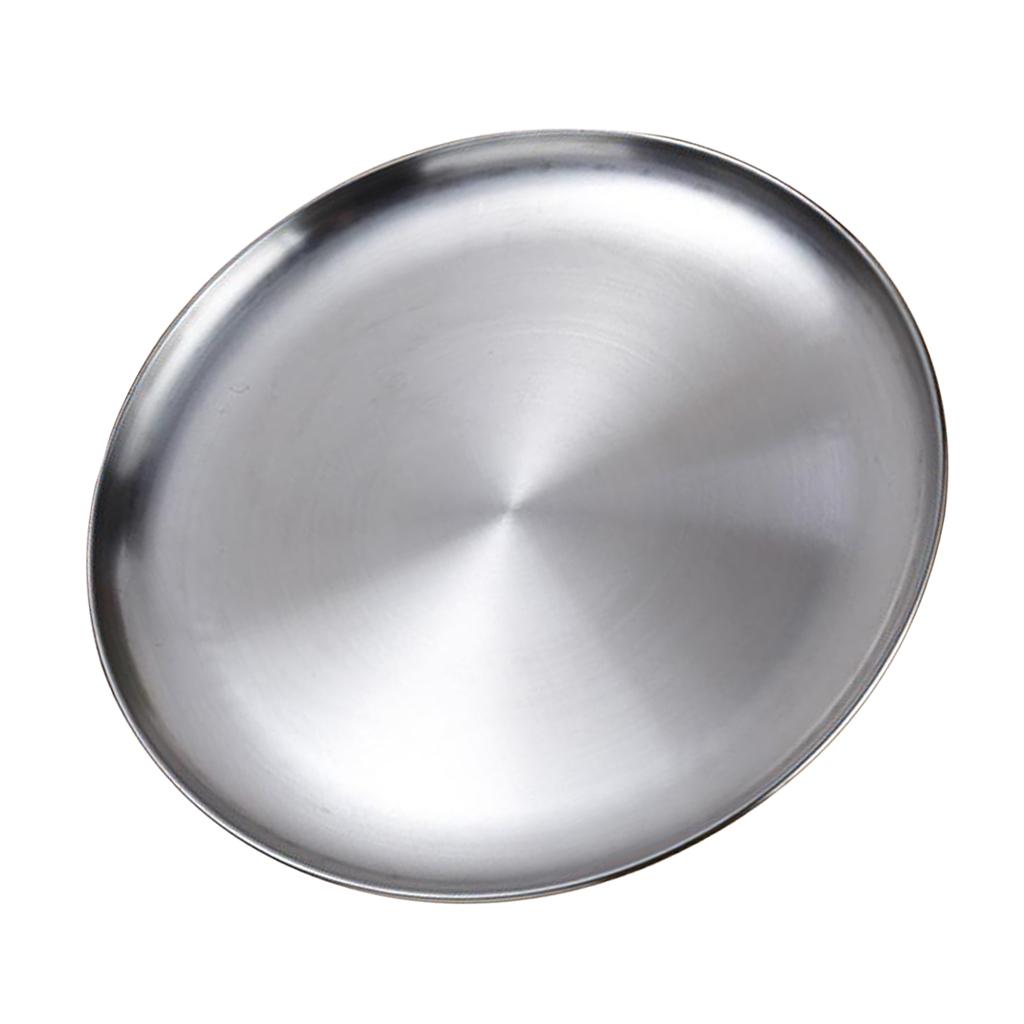 Lavello-in-acciaio-inossidabile-per-lavastoviglie-con-piatto-rotondo miniatura 5