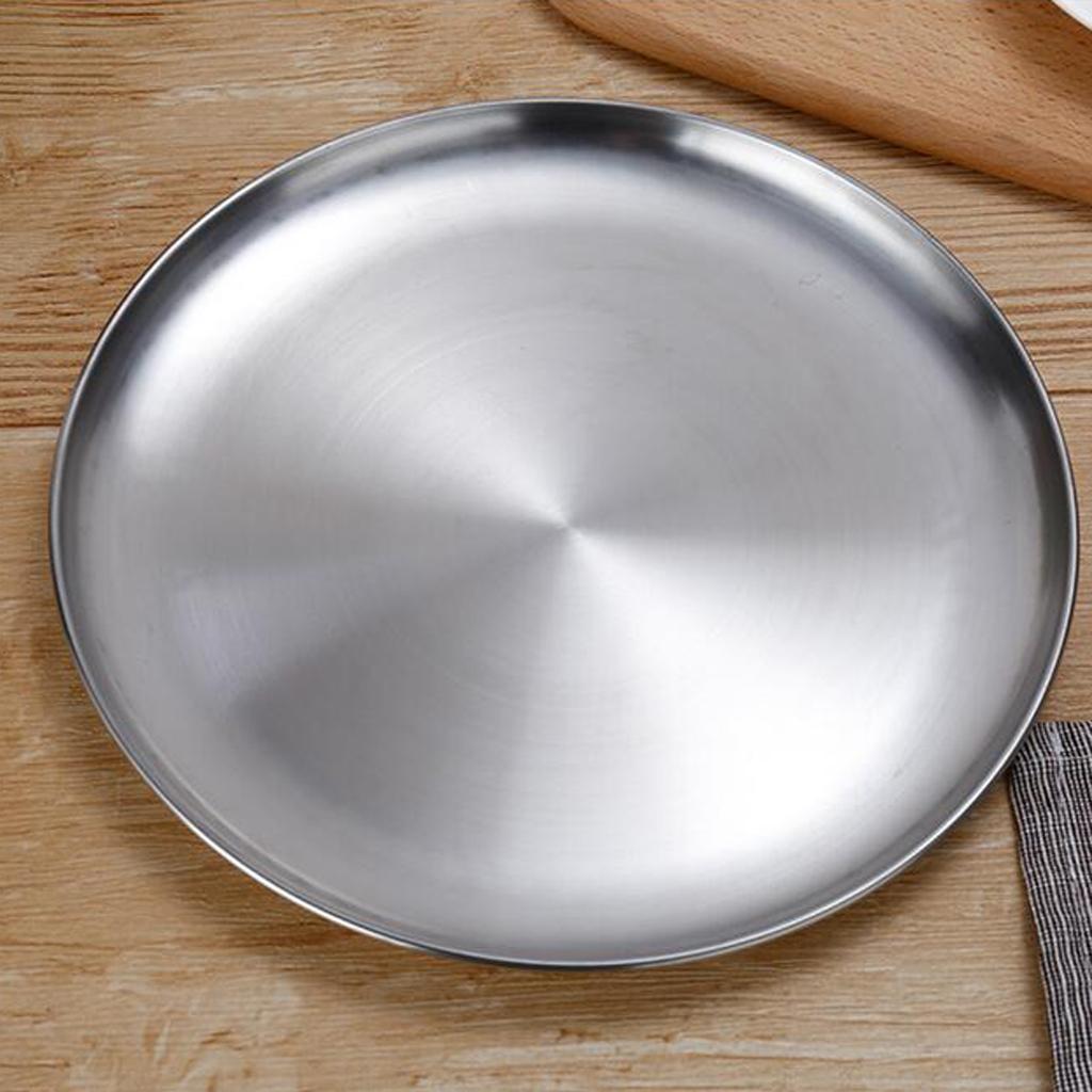 Lavello-in-acciaio-inossidabile-per-lavastoviglie-con-piatto-rotondo miniatura 6