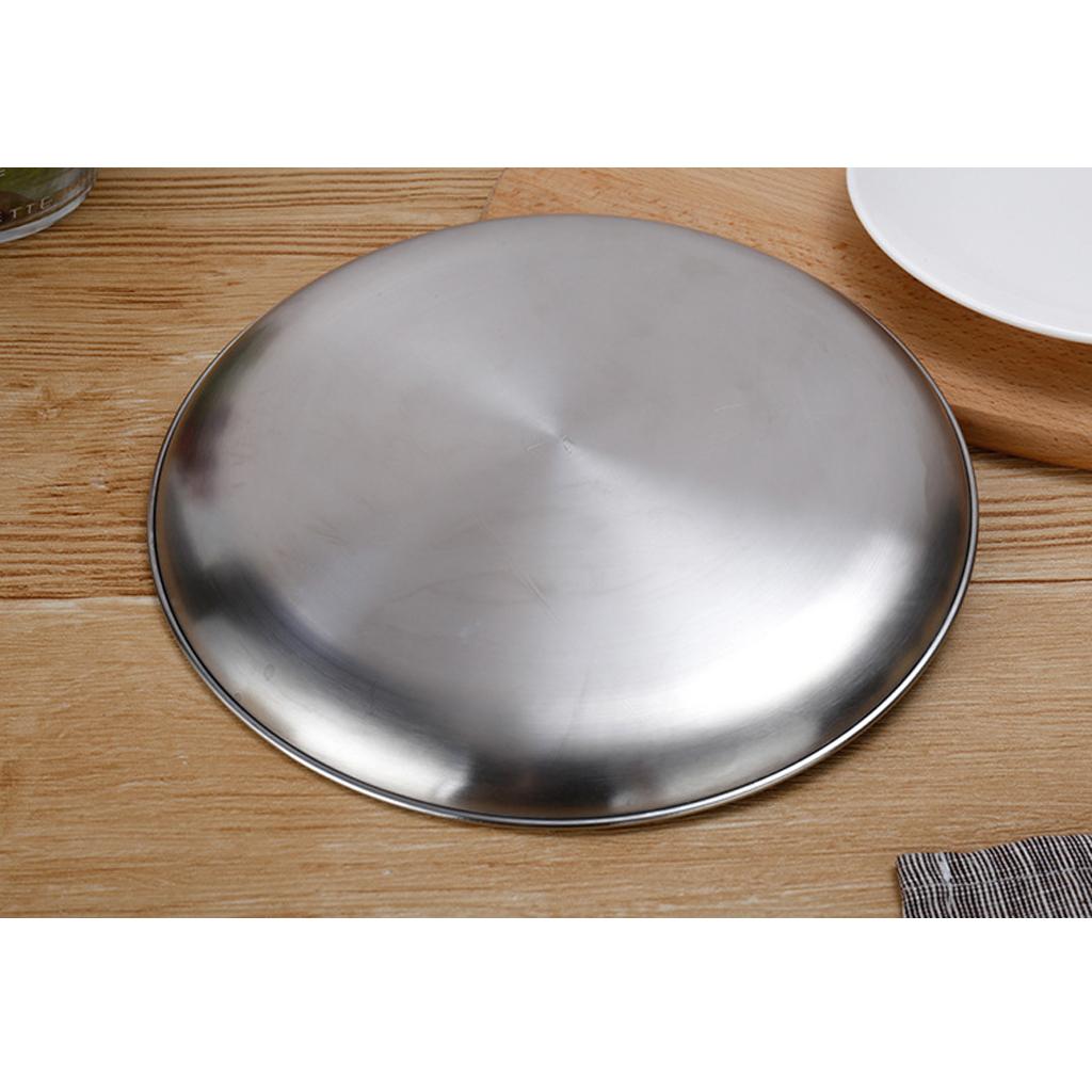 Lavello-in-acciaio-inossidabile-per-lavastoviglie-con-piatto-rotondo miniatura 3