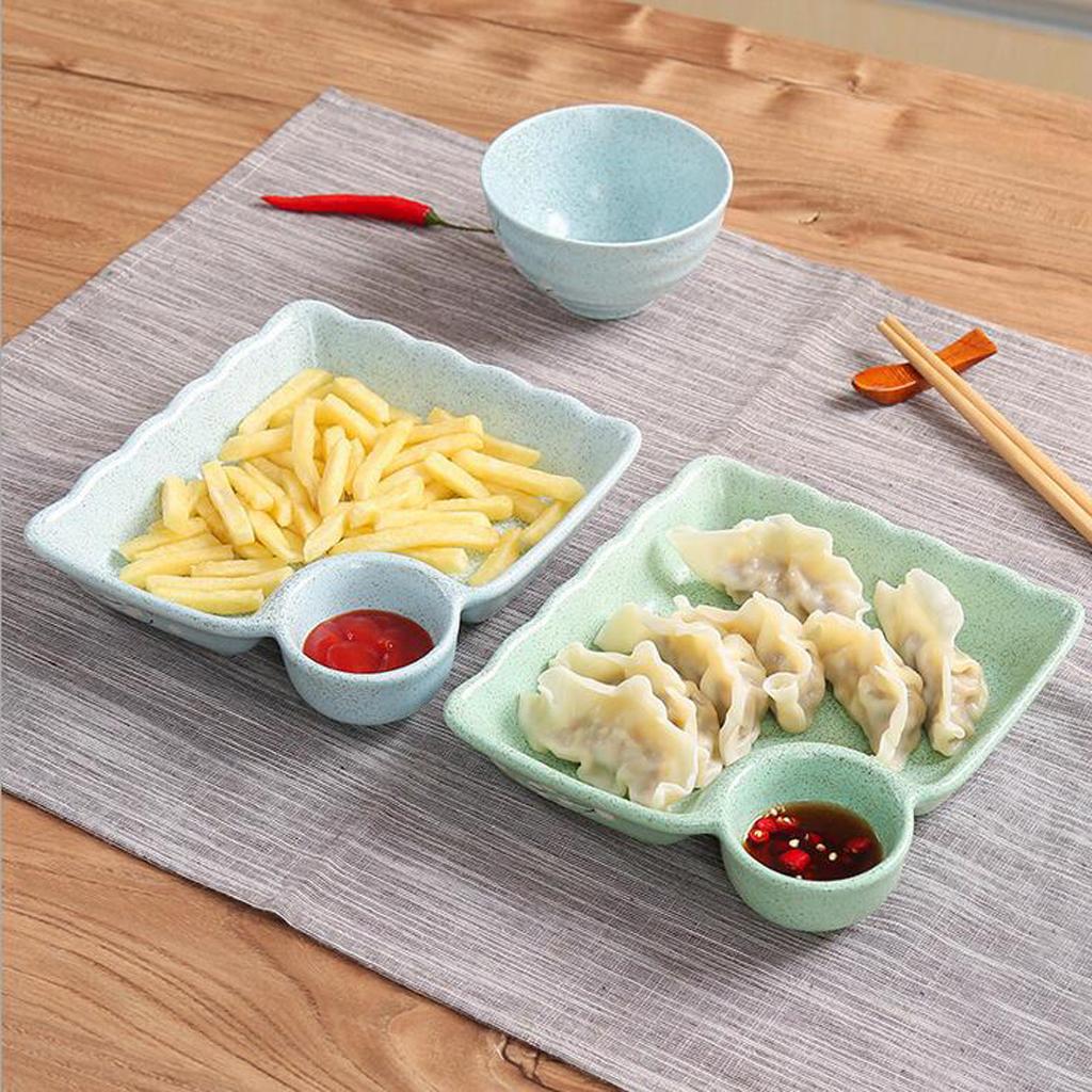 Piatto-per-Gnocco-Insalata-Sushi-Frutta-Piatto-di-Riso-Creativo-Piatti miniatura 11